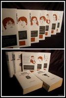 Harry Potter (Horcrux) book designs by Helenhsd