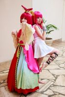 Morgiana and Kougyoku Magi Cosplay by firecloak