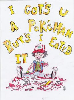 Pokemon violent humour by MaX---DeAtH