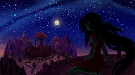 Adventure Time: Marceline the Queen of Night by faycoon