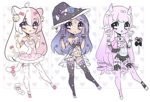 +Random cutie adopt batch (0/3) [ CLOSED]+ by Hunibi