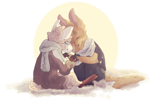2 Cutes by tokenfolly