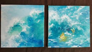 Paintings by shayxy