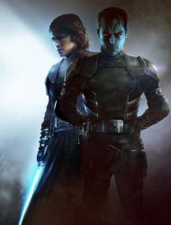 Anakin Skywalker and Commander Thrawn by ChaosEmperor971