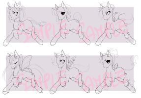 Pay or Trade to Use Pony Adoptable Base by DesireeU