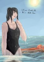 Contest: Ayano's Holiday (Summer) by IVM616
