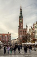 Old City Hall in Gdansk by attomanen