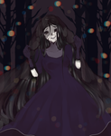 Weeping Woman- Happy Halloween !- by AnjuDere