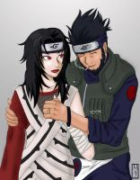 Asuma and Kurenai by BoxOfNinja