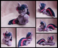 Baby Princess Twilight Sparkle Plush - Commission by Sonic-Spatula