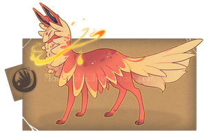-Auction- Flareon Themed FC (CLOSED) by GentleLark