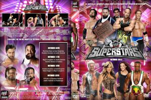 WWE Superstars October 2013 DVD Cover by Chirantha