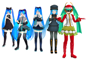 Miku Model Dump Download by Pikadude31451