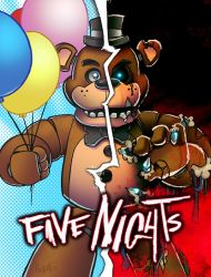 5 Nights of Fright by herms85