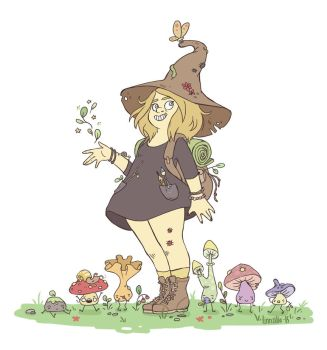 Witchsona by linnzilla