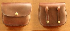 Leather Pouch by SoerenHammer