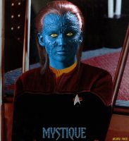 Mystique  X men  Star Trek by gazomg