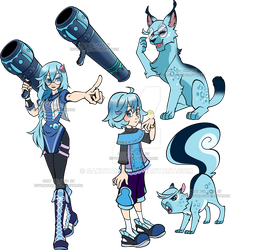 Kingdom Hearts evo Adopt4 Waterbomb by Sakuyamon