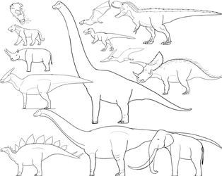 WIP - Skull Island Fauna Concepts by Troyodon