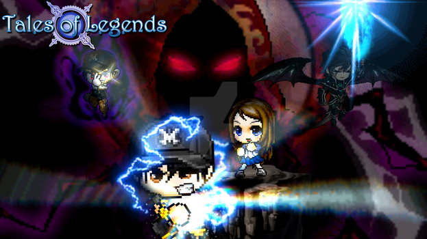 MapleStory: Tales of Legends (New Wallpaper) by SoldierSuper117