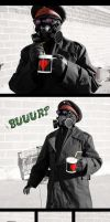 Remember, kids: Remove gas mask, THEN belch by donda