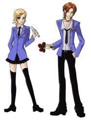 Ouran Host Club: Rae and Beni by bourgogne