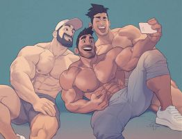 Hunks of the week #53 by silverjow