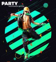 Party Photoshop Action by hemalaya