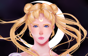 Sailor Moon by emleedomo