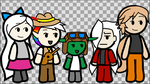 Dungeons and Dragons Animation Group by TurtleArmyJess