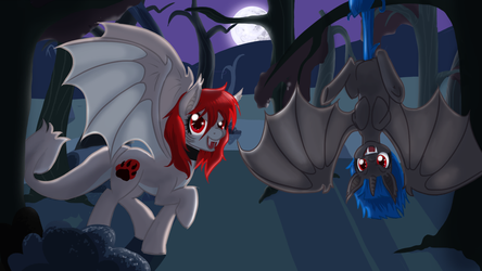 Bat Ponies for Scylla by NaomiKnight17