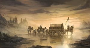 Crossing Mummer's Ford - A Game of Thrones TCG by jcbarquet