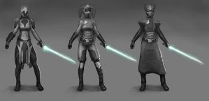 Force User Concepts by philldwill