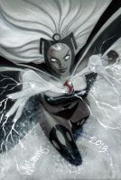 Storm is coming to Heroes by BroHawk