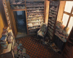 Secret library by Dragoreon