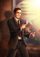 Avenge-a-thon: Phil Coulson by ryodita
