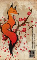 Cherry Fox by SIN-BIN