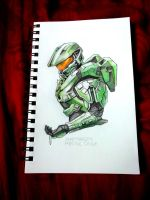 Master Chief by SpartanB214