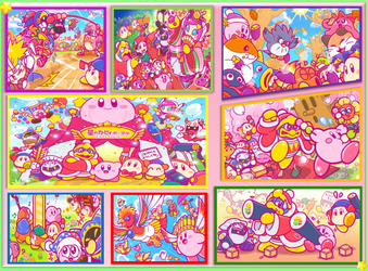 Kirby's Memories (Part 1) by Plumstar23