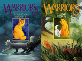 Redrawn Warriors Covers 3-4 by shadowily