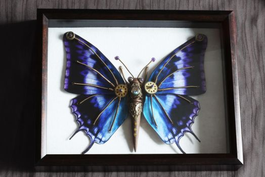 Steampunk Butterfly by CatherinetteRings