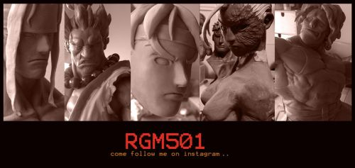 Rgm501 sculpture WIPS by rgm501