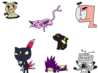 More sketches ft. Various Pokemon by RM007returns