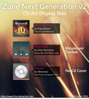 Zune Next Gen CAD v2 by Fi3uR