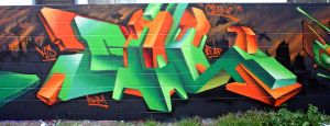 GREENS AND ORANGES by GILone