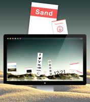 Sand for Rainmeter by C---M