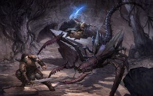 Demon Fight by velinov