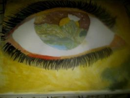 Abstract Eye by StarClipse
