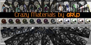Crazy Material pack by AKLP by AKLP