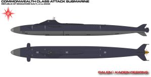 Commonwealth Class Submarine by Galen82